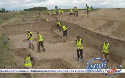 Над созданием историко-культурного комплекса в Усольском районе трудятся местные школьники