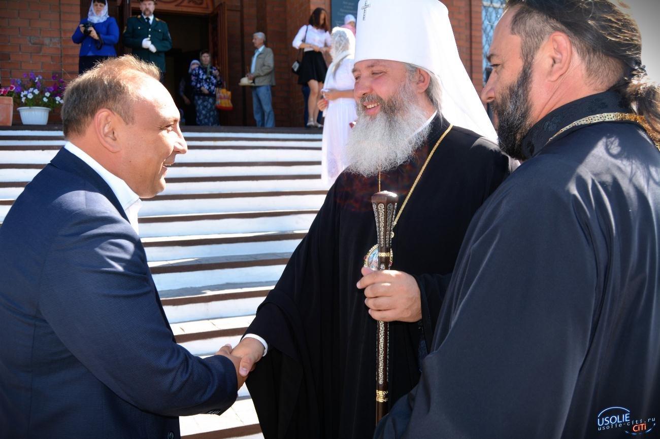 Управляющий епархией Максимилиан посетил Усолье