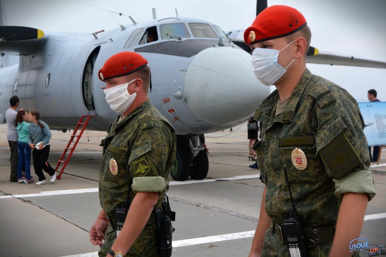 Вспышка коронавируса произошла на военной авиабазе Белая