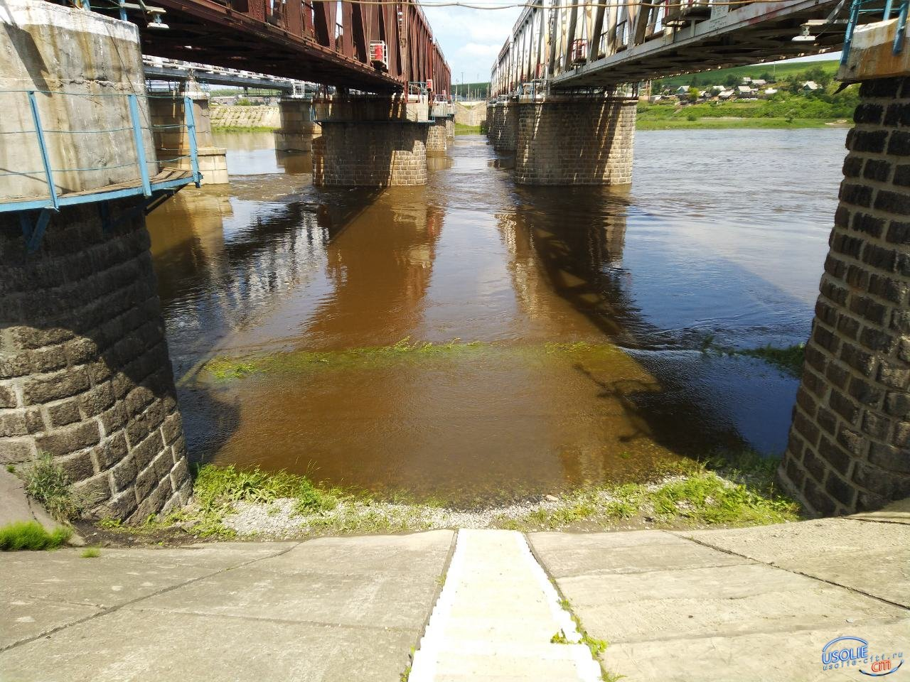 В реках Усольского района повышается уровень воды