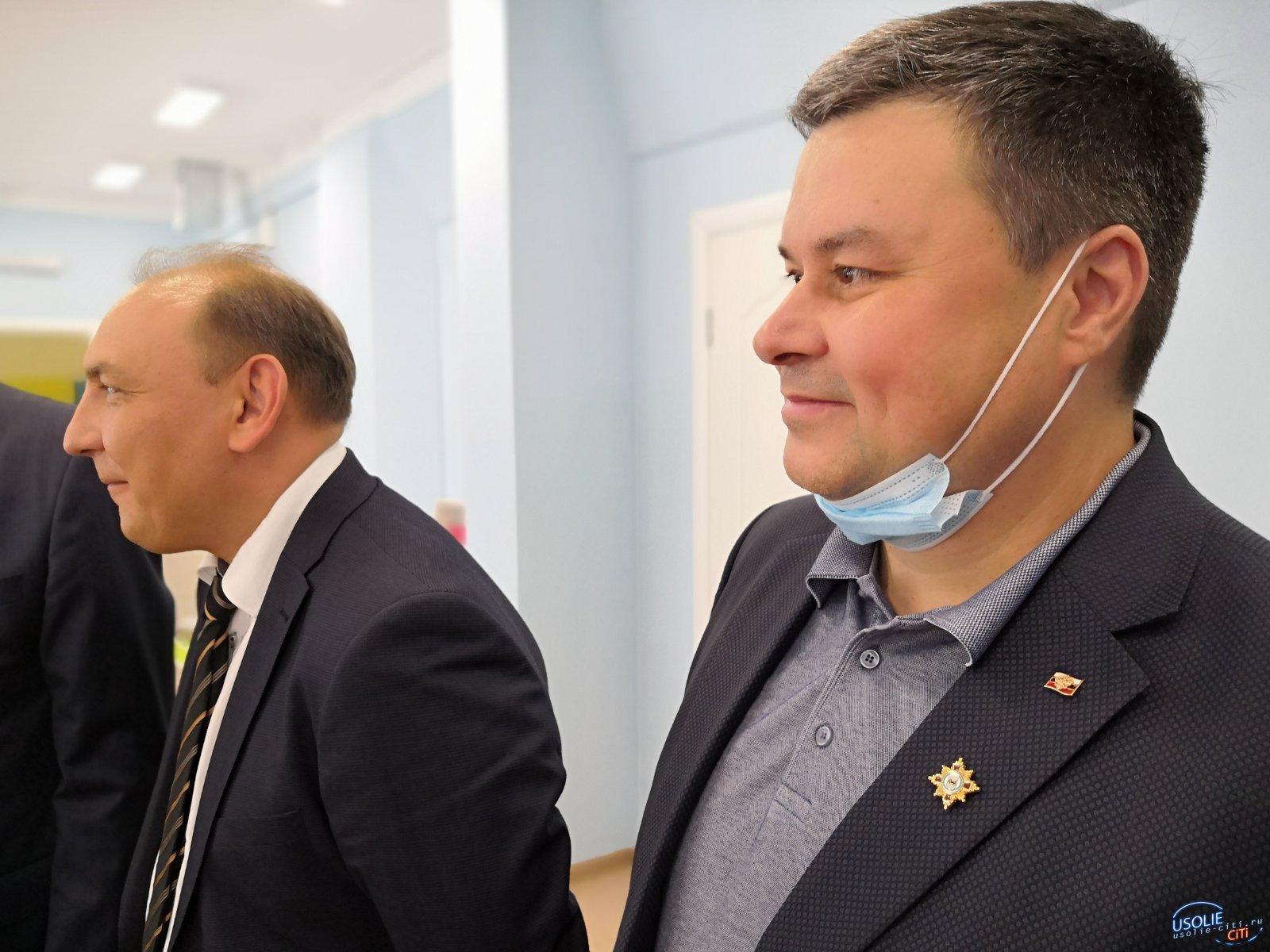 Первых пациентов принял новый кабинет врача в Усолье