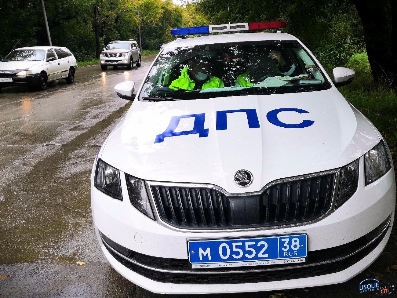 Сегодня ГИБДД Усолья устроит массовые проверки на дорогах