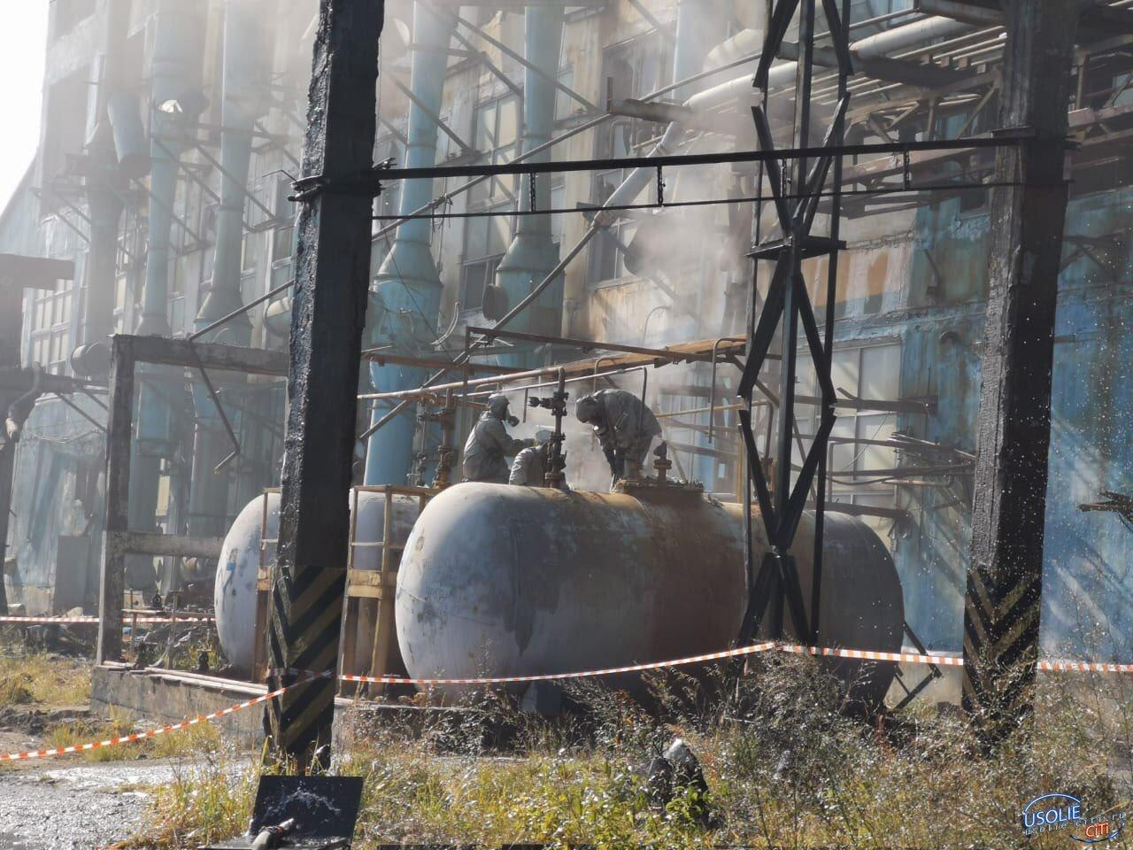 Мэр Усолья: Что обнаружено в опасных емкостях Химпрома