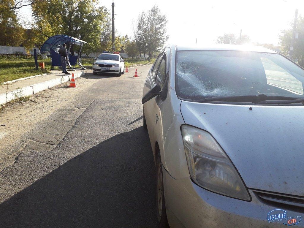 В Усолье школьница попала под колеса автомобиля