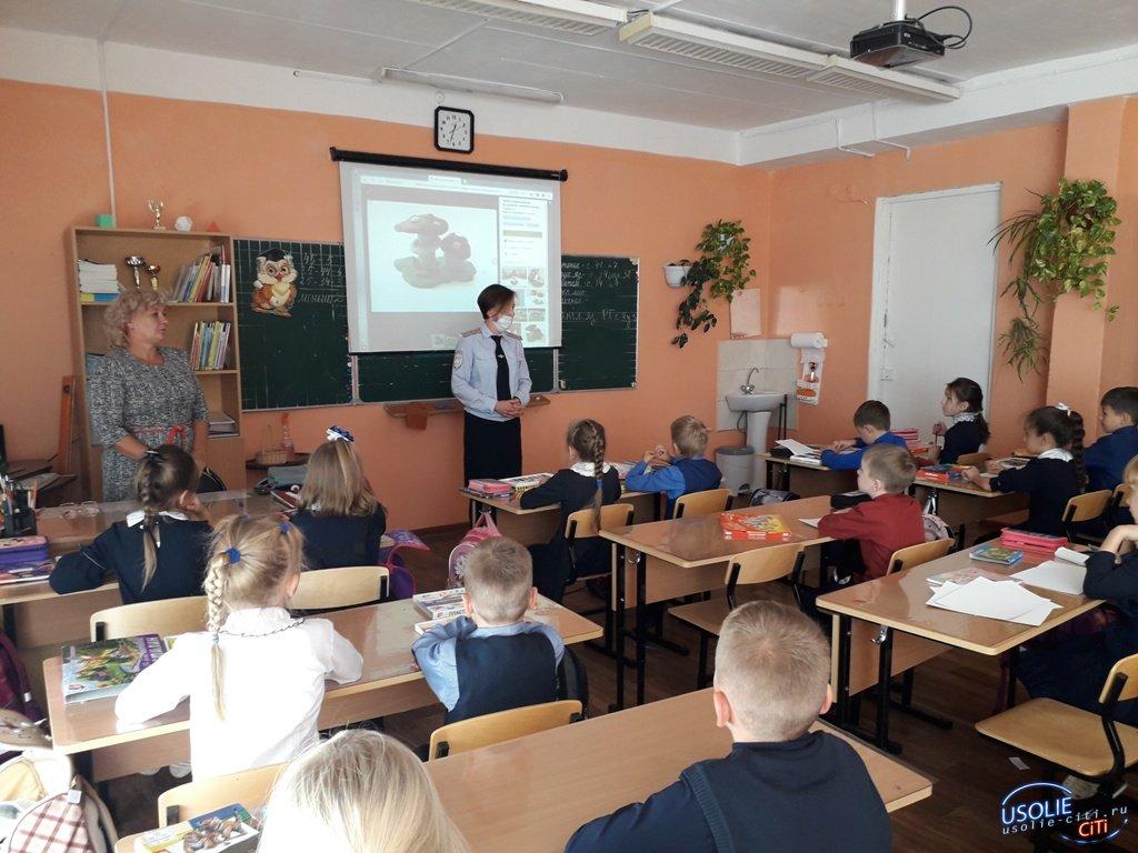 В школах Усолья и Усольского района правоохранители провели уроки безопасности
