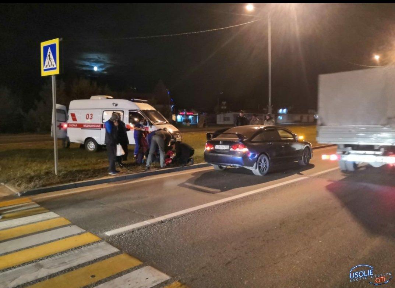 Школьница в Усолье попала под колеса автомобиля