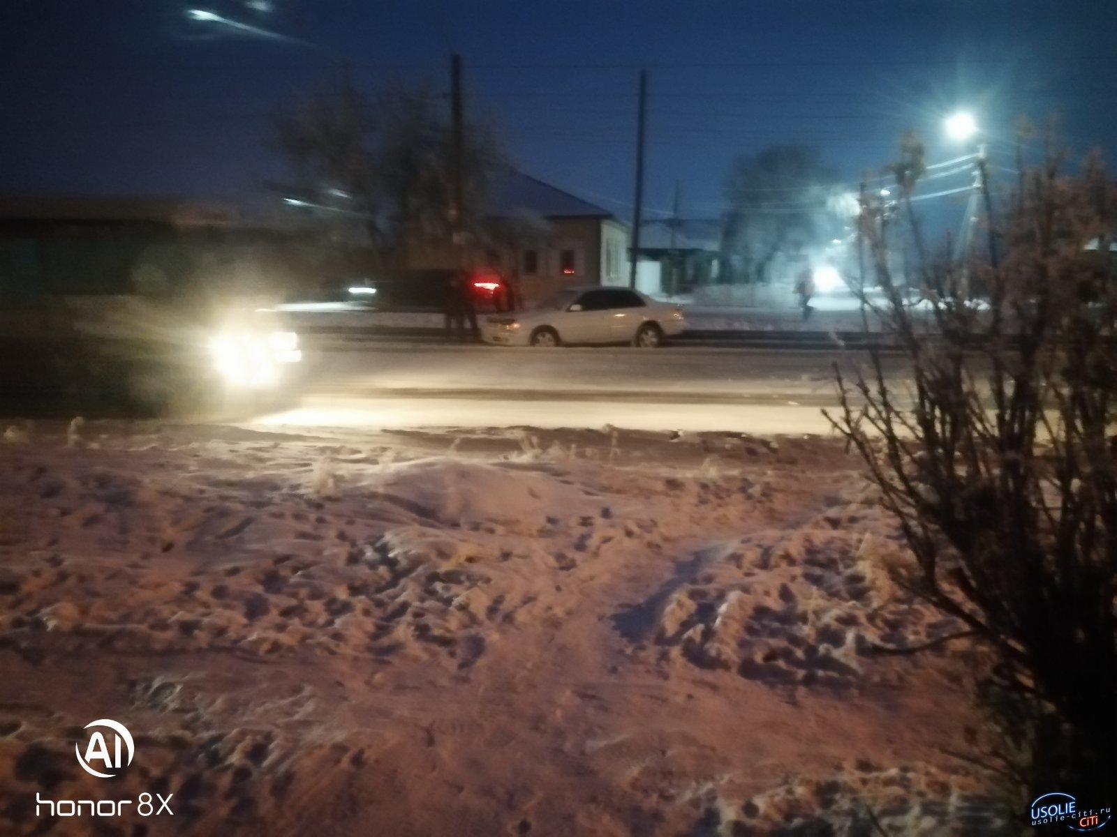 В Усолье «Тойота» перегородила дорогу трамваю