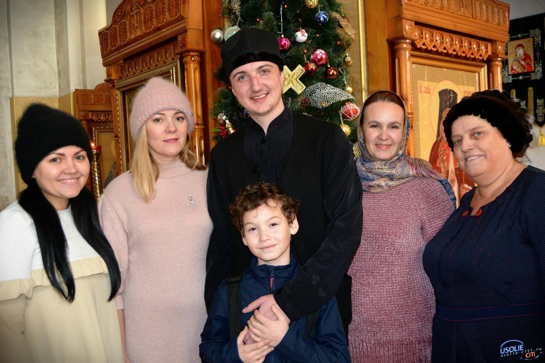 В Усолье православные христиане готовятся встречать праздник Рождества