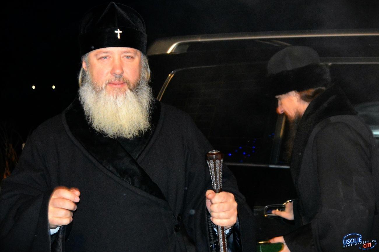 В Тельму приехал управляющий епархией
