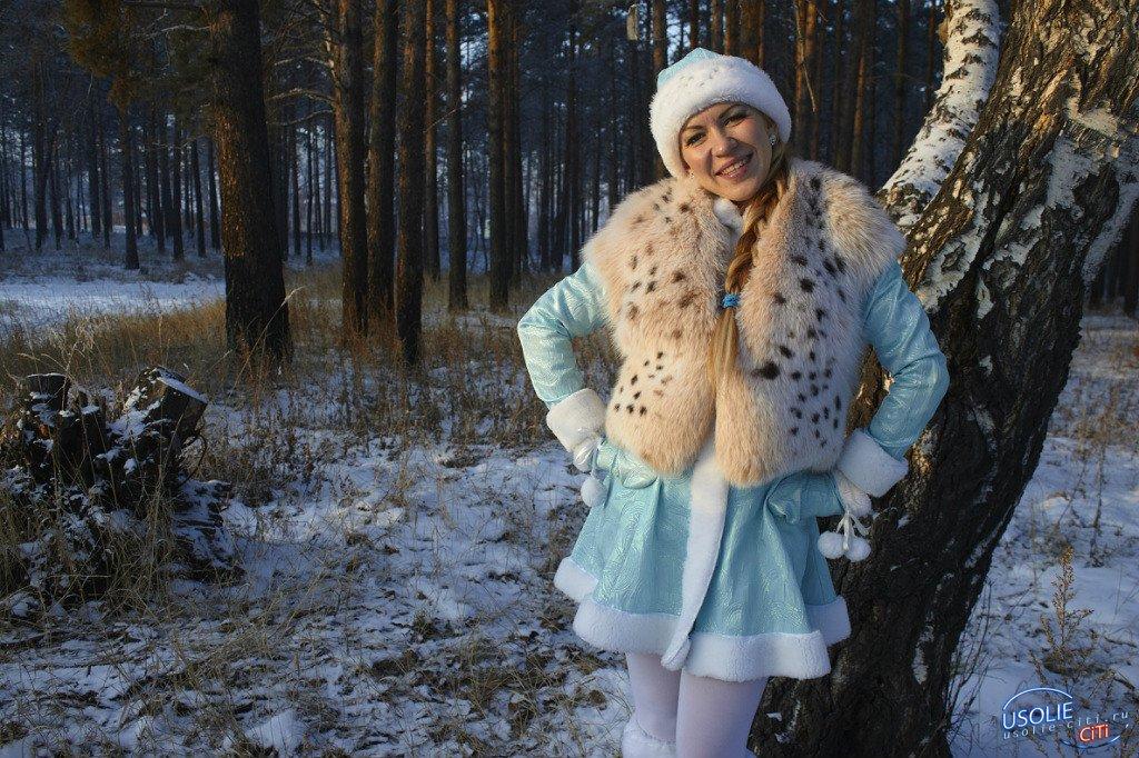 Юбилей: 20 лет в костюме Снегурочки Усолья