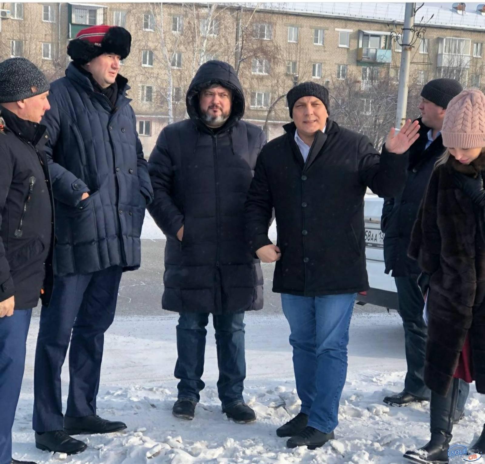 Два министра РФ побывали в Усолье. Нас ждет строительство домов