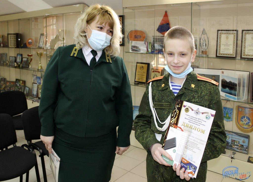 Макет шестиклассника из Усолья станет частью экспозиции музея МЧС