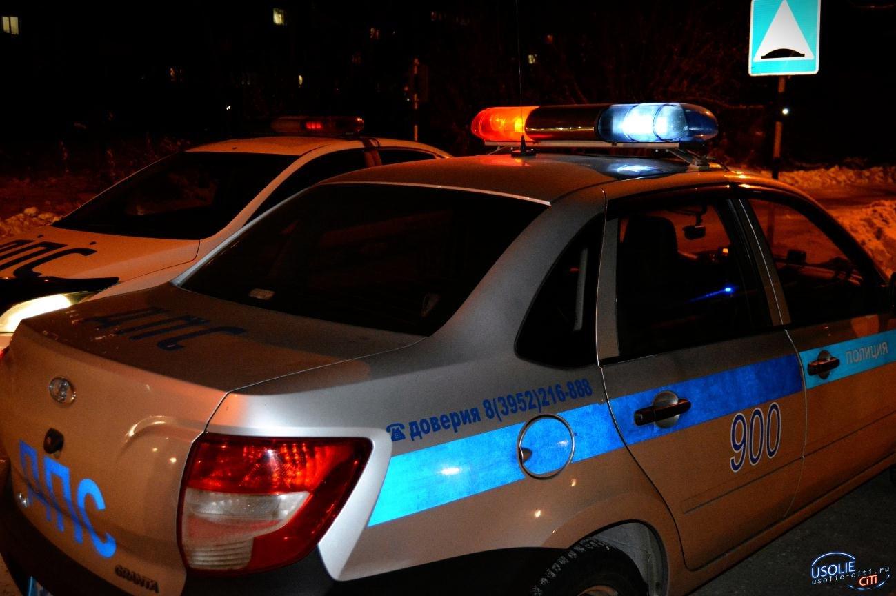 В Усолье пьяную женщину за рулём поймали прямо на трассе