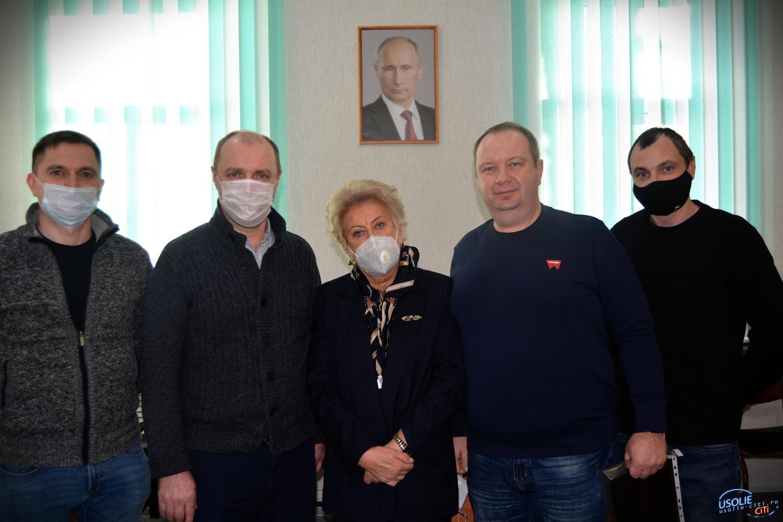 Усолье посетили главный врач ГБУЗ ООД и доктор медицинских наук