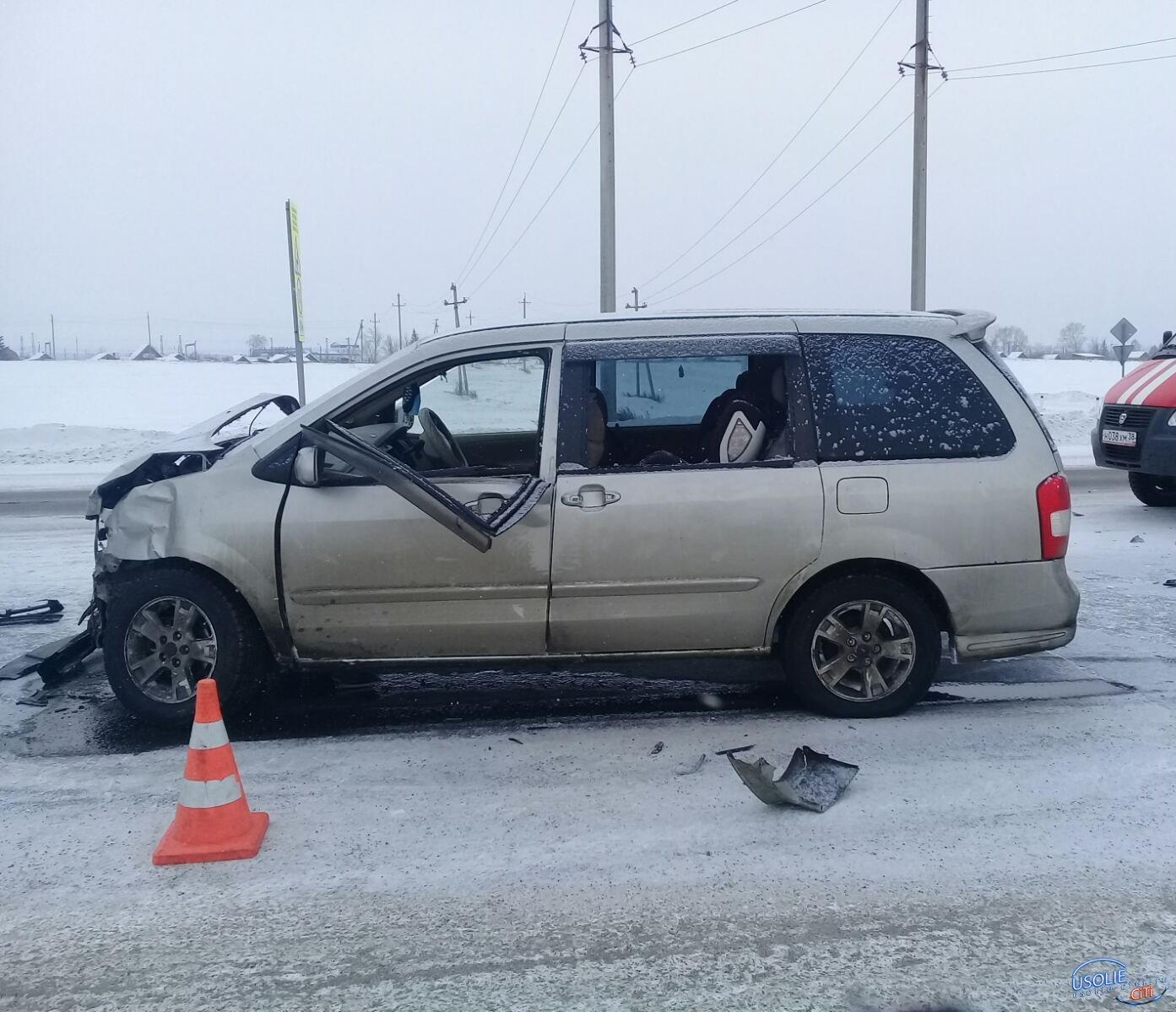 Ребенок пострадал в аварии: ДТП в Усольском районе