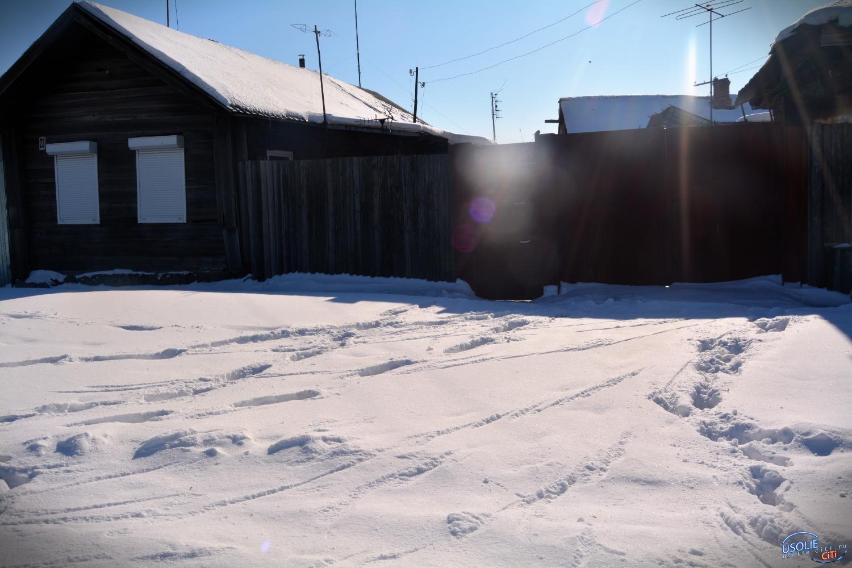 Куда исчез Общественный деятель Усолья. Его дом занесло снегом