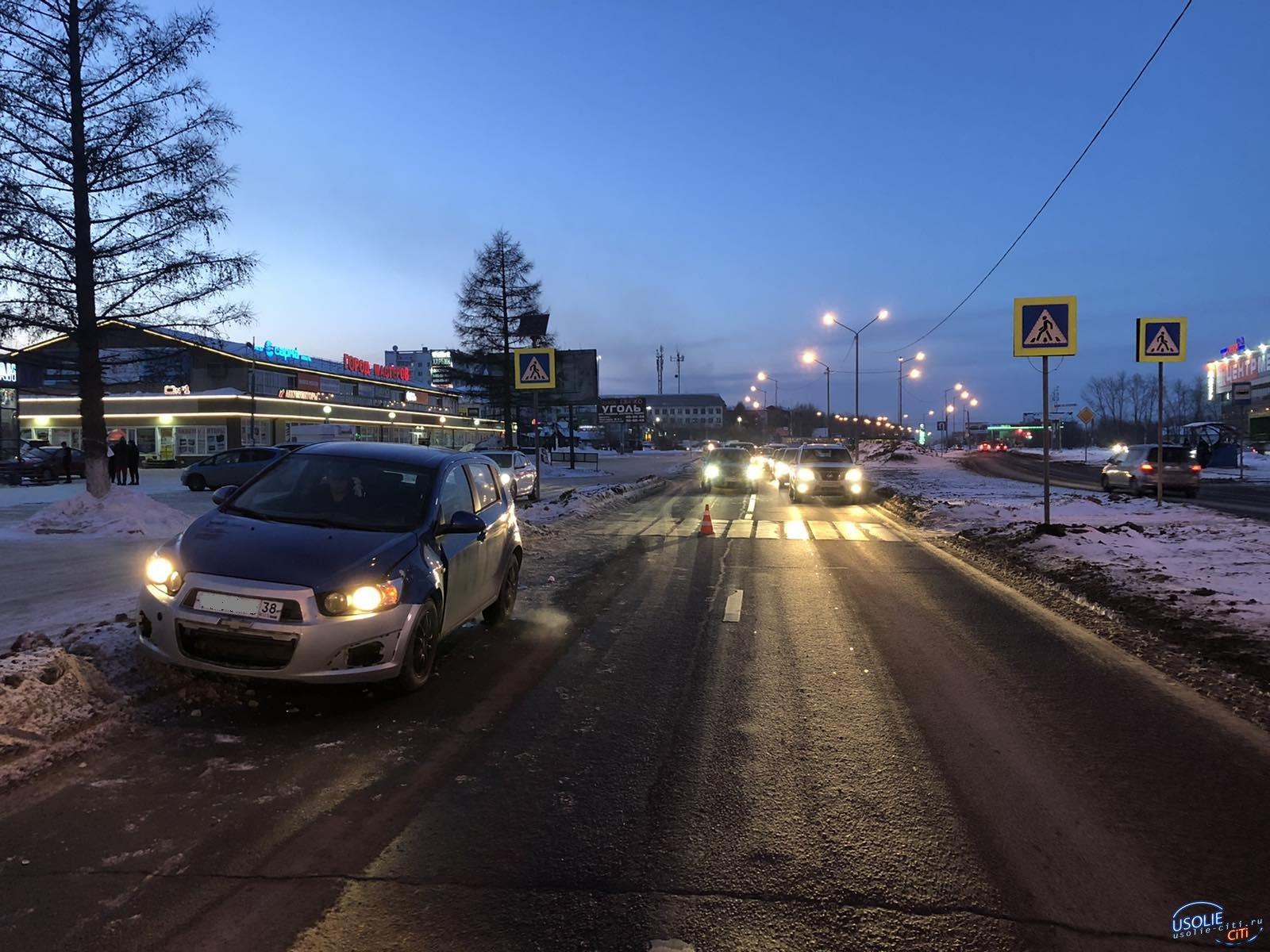 Автомобилист в Усолье сбил пешехода возле торгового центра «Новый»