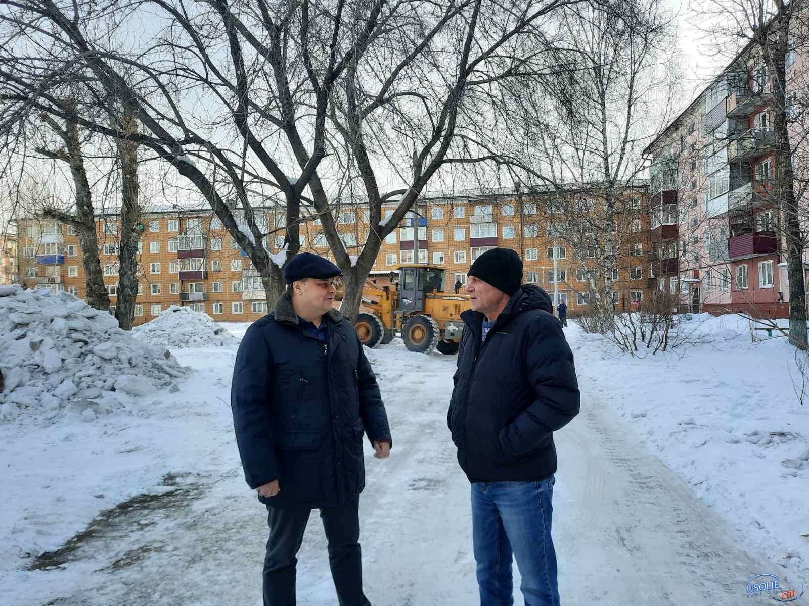 Вадим Кучаров: От снежных завалов нужно избавляться!