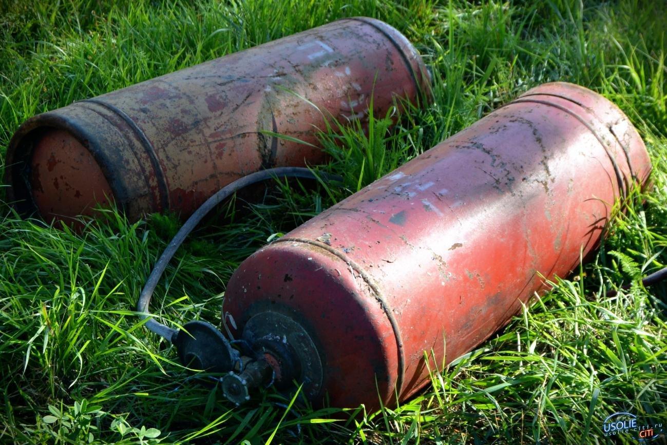 Газовый баллон взорвался в Усольском районе