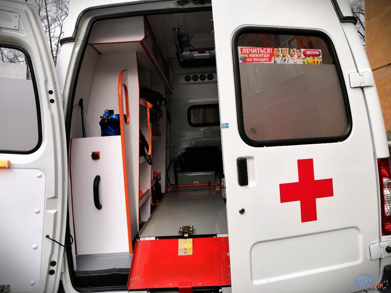 В Усолье пострадавшая в ДТП пассажирка «Тойоты» госпитализирована в больницу