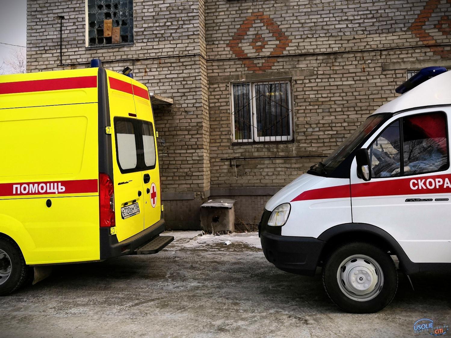 46 человек в госпитале Усолья. Два пенсионера умерли