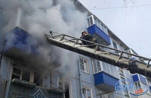 Выяснилось, что хозяин сгоревшей квартиры в Усолье был пьян