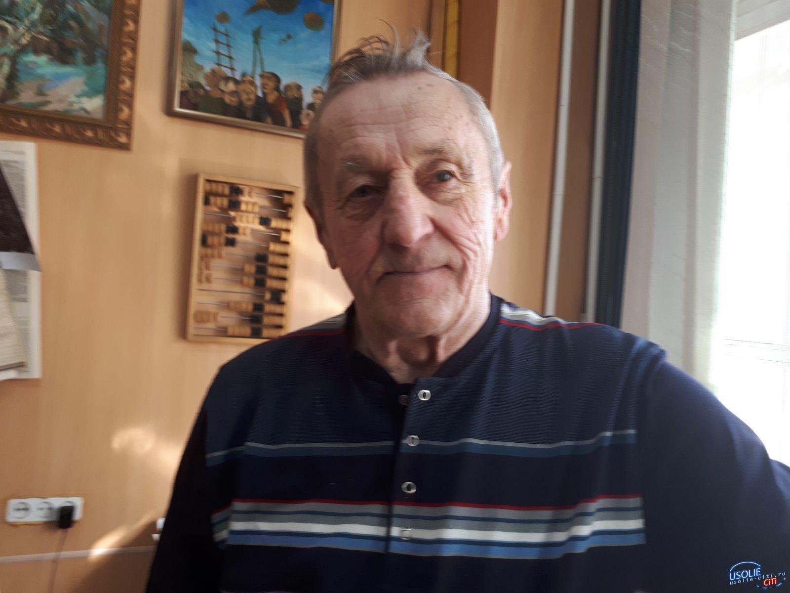 Сегодня усольскому журналисту Василию Скороходу - 77