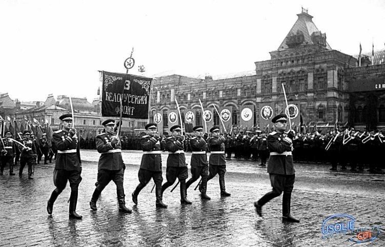 Житель Усольского района участвовал в первом Параде Победы