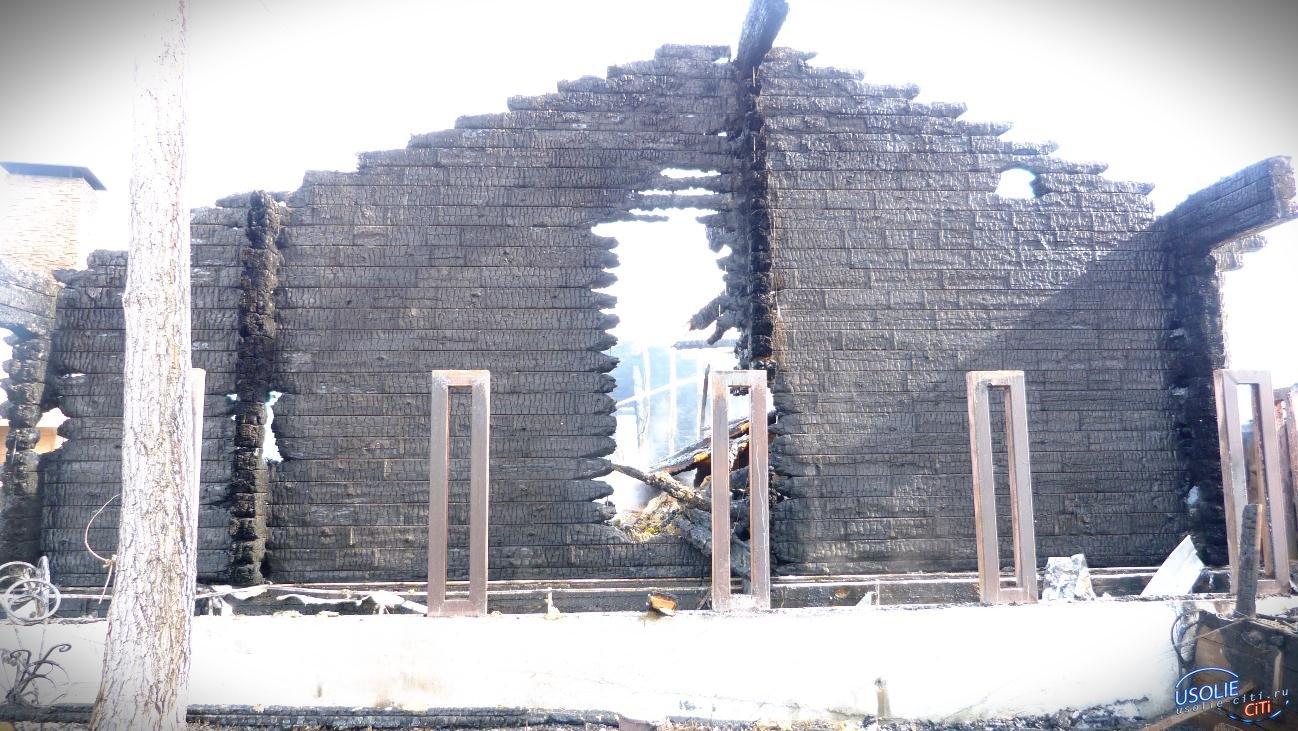Баня горела в Тельме
