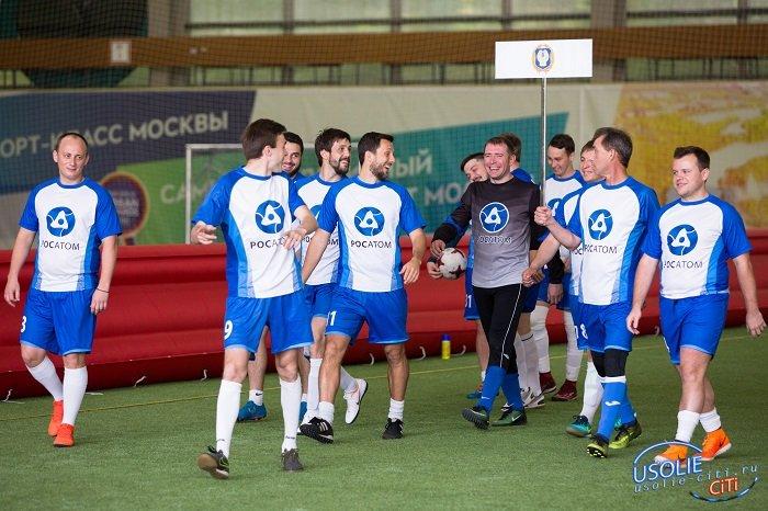 Росатом в Усолье организовывает футбольную команду