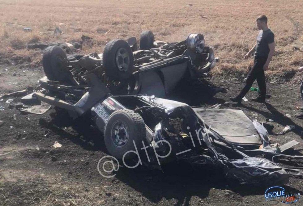 Под Усольем столкнулись три автомобиля, мужчина погиб