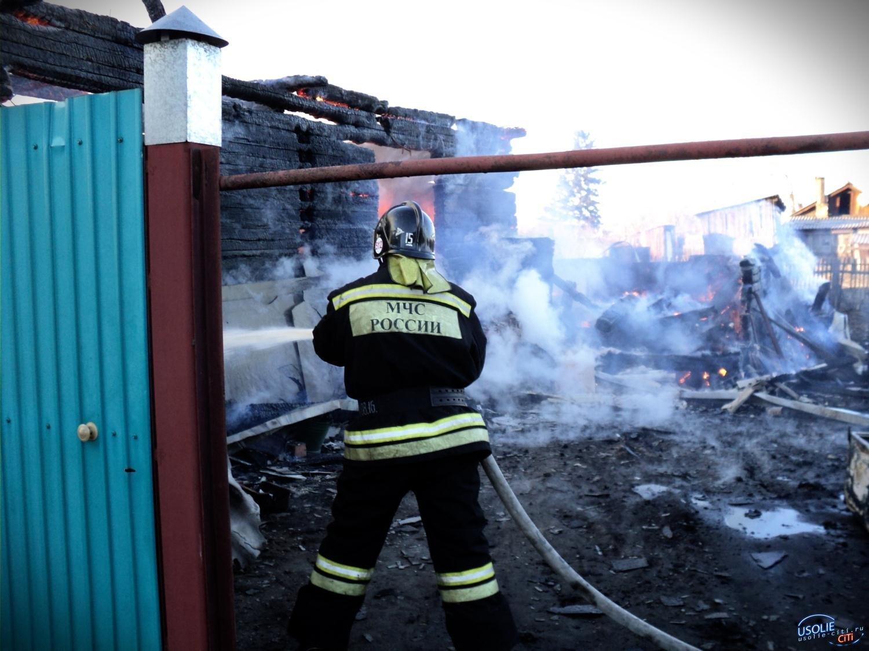 В Усолье подожгли квартиру в жилом доме