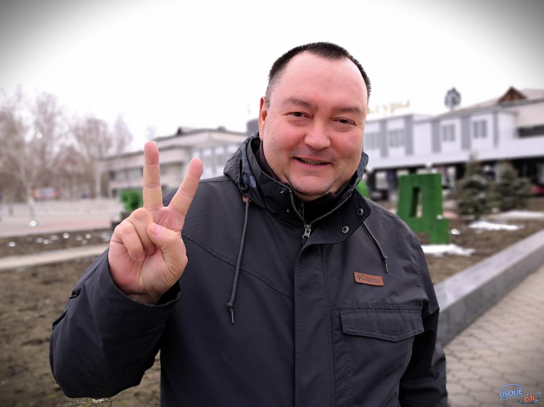 Всего четыре жителя Усолья вышли в поддержку Алексея Навального