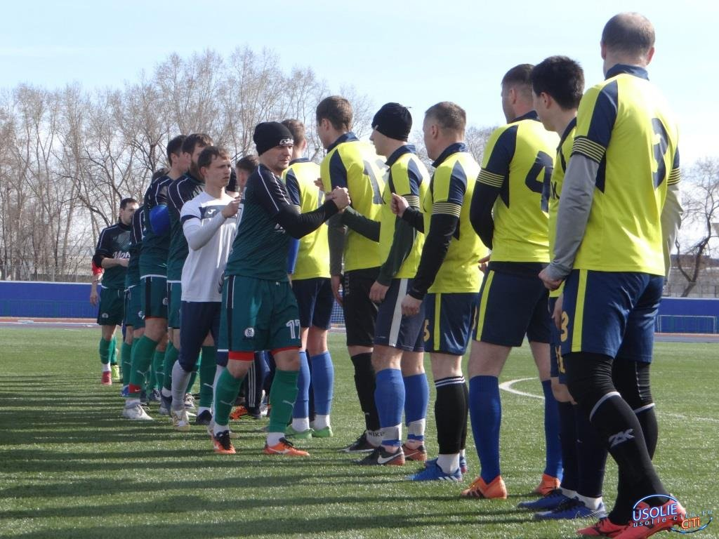 Супер  футбольная суббота в Усолье