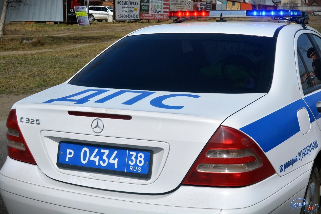 Пьяный водитель «Тойоты» устроил ДТП в Усольском районе