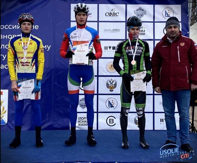 Усольский спортсмен выиграл пятый этап всероссийских соревнований на сочинской многодневной велогонке