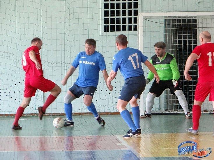 На втором месте усольские футболисты
