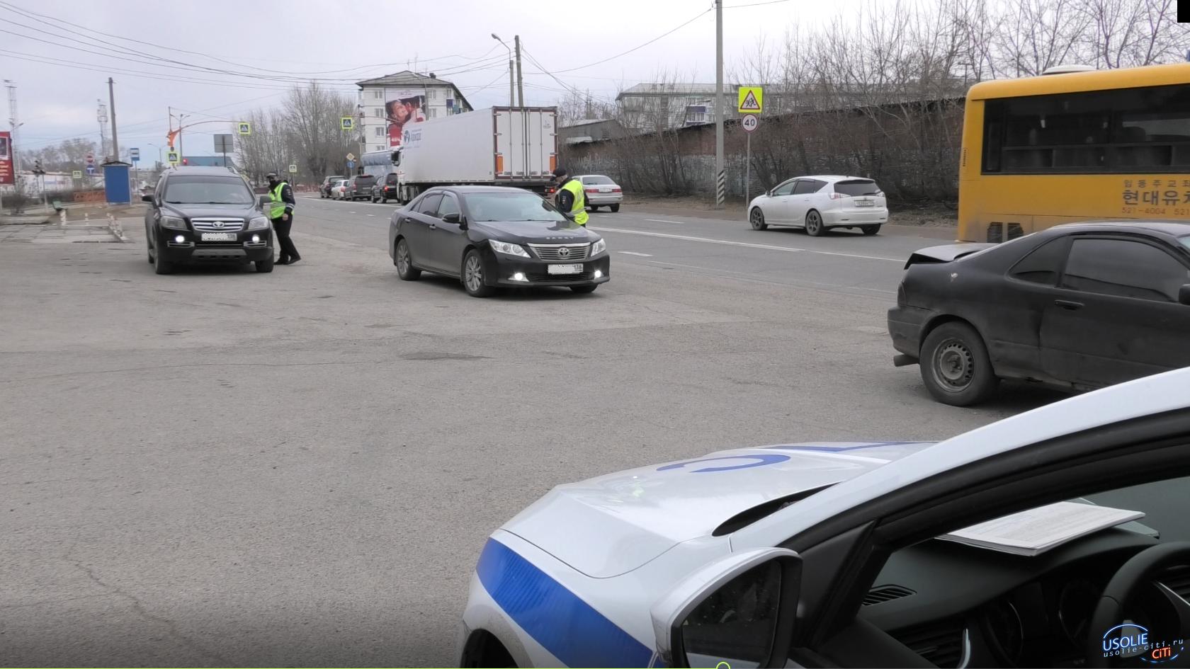 Автоинспекторы Усолья поймали пьяных водителей