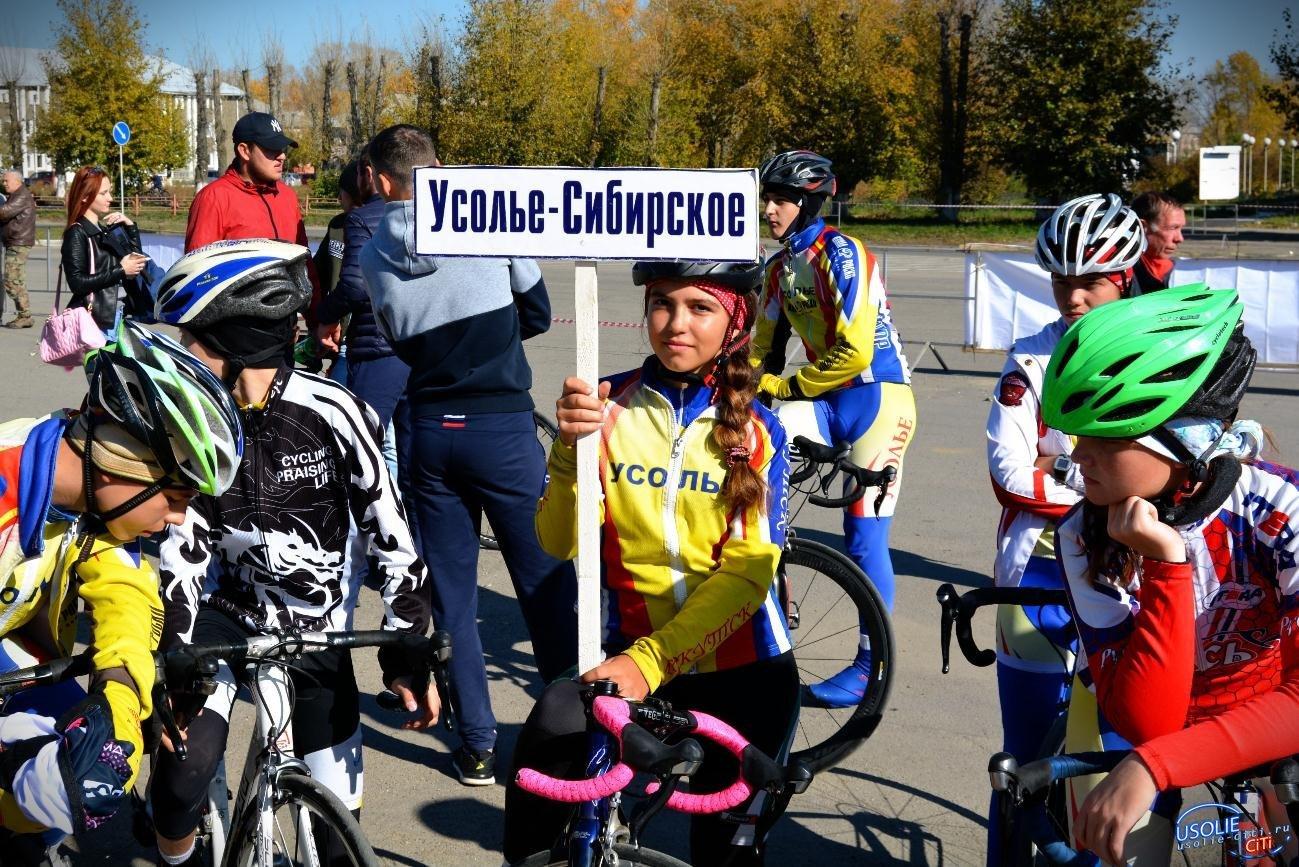 Велоспорт: Усолье-Сибирское  выиграло во всех соревнованиях