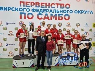 Самбо: Усольские спортсменки завоевали медали
