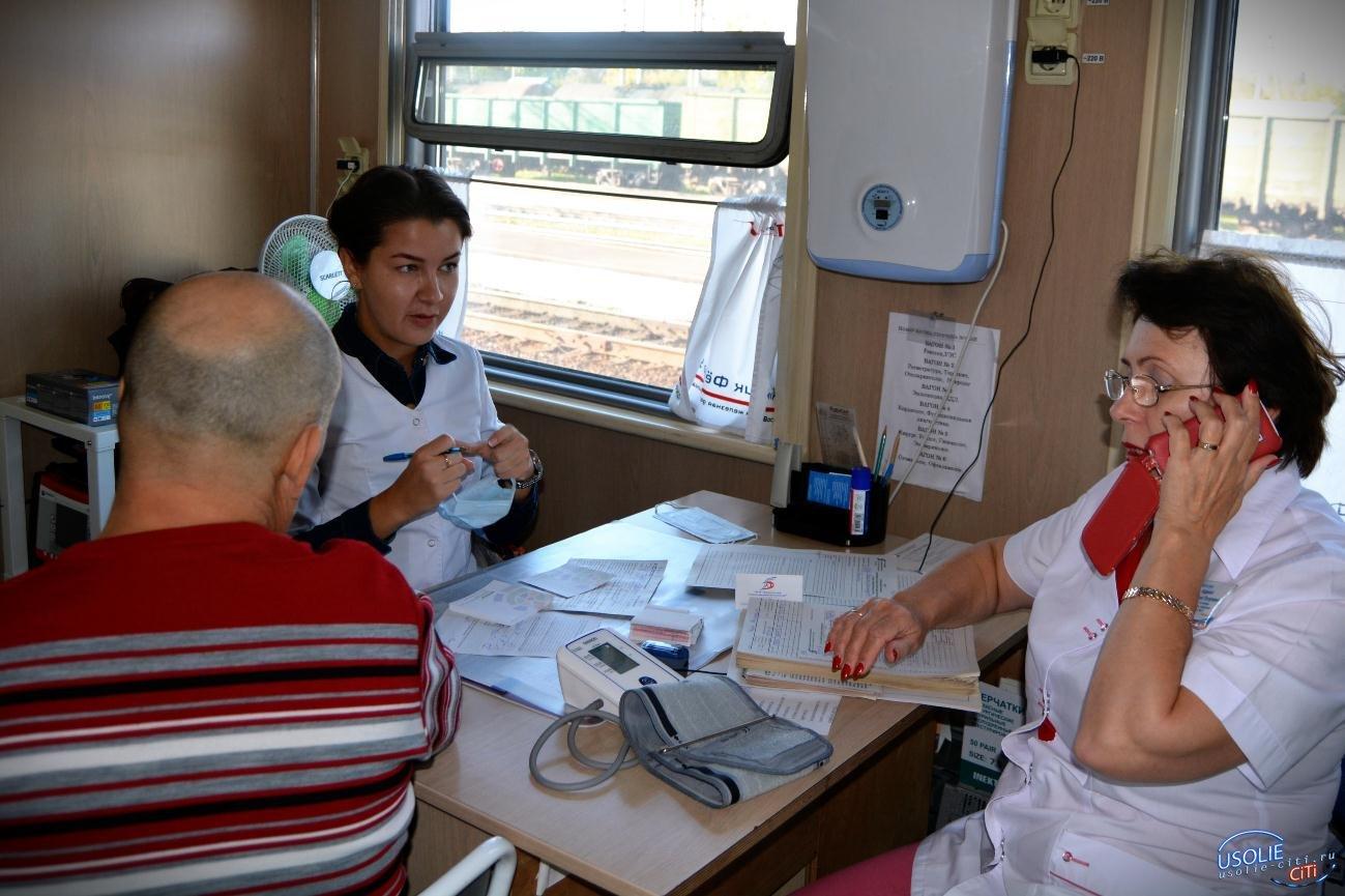 Медпоезд с двумя вакцинами едет прививать усольчан от коронавируса