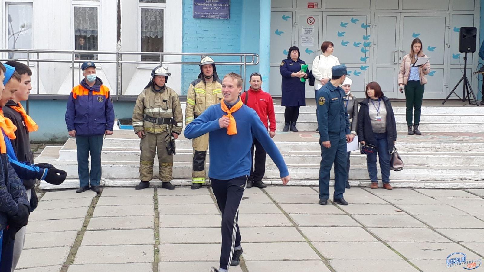 В Усолье прошел слёт юных пожарных