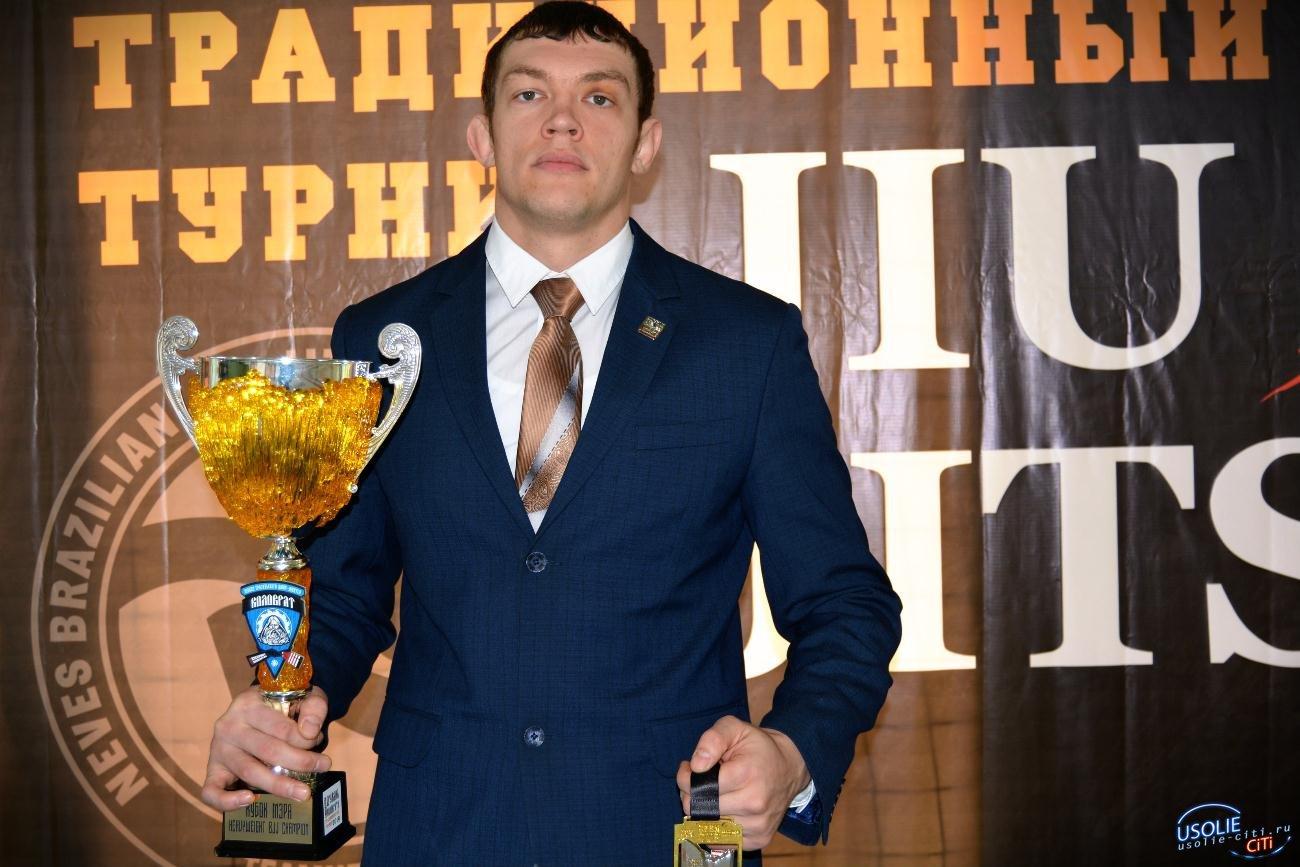 Усольчанин Лукашевич завоевал две медали