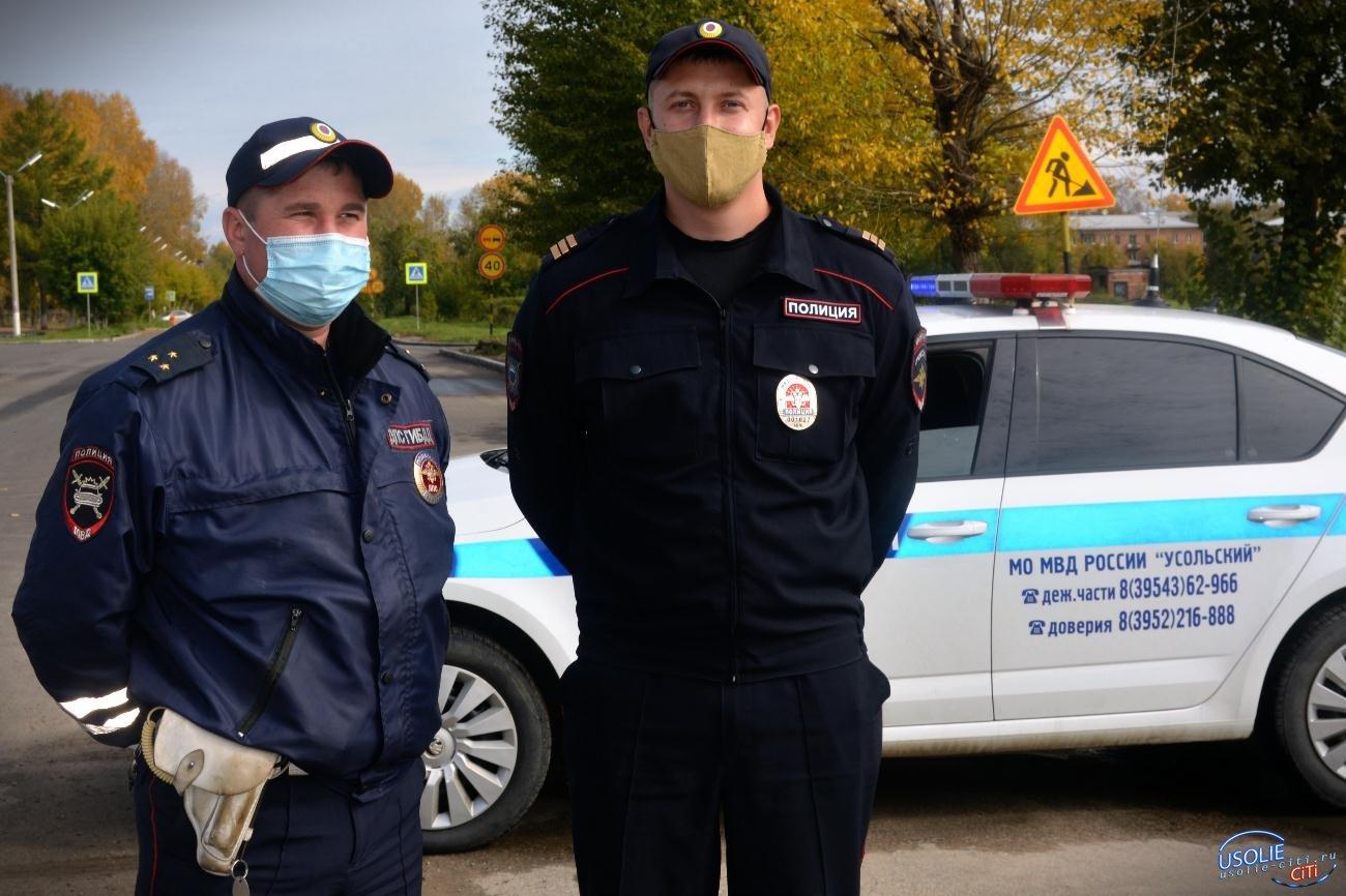 Сегодня в Усолье и Усольском районе сотрудники ГИБДД проводят проверку водителей на состояние опьянения