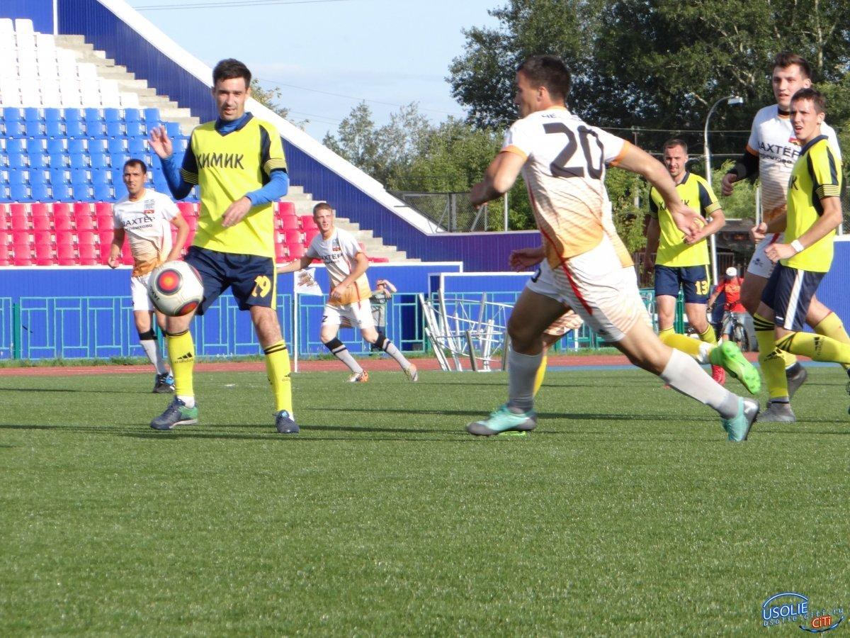 Футбол в Усолье – игр будет много