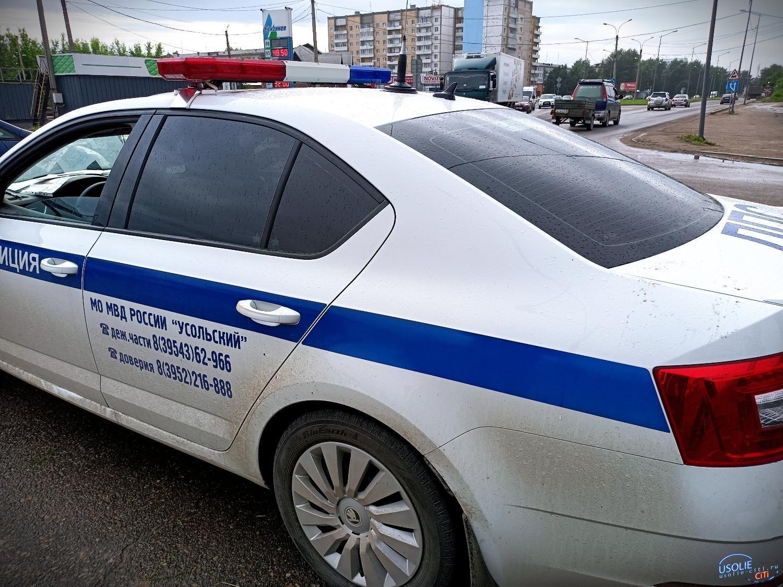 В Усолье установили и привлекли к ответственности мотоциклиста, который скрылся с места ДТП