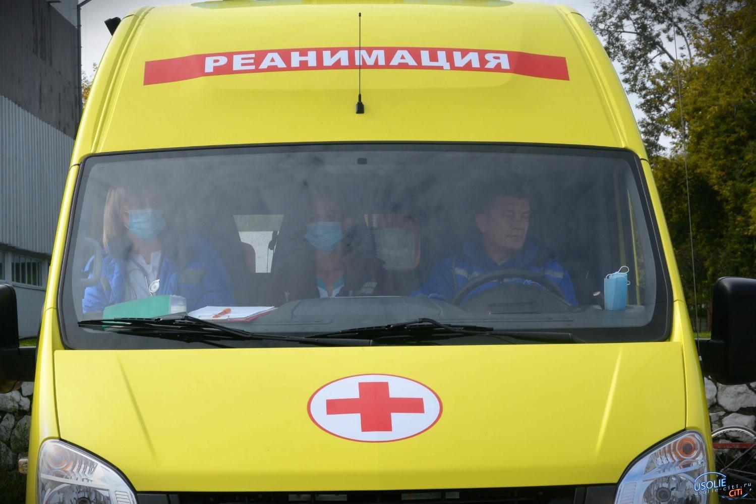 14-летний парнишка на отцовской «Ямахе» влетел в пассажирский «ПАЗ» в Усольском районе