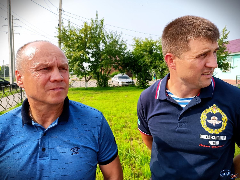 В Усольском районе открыли бюст главкому ВДВ Василию Маргелову