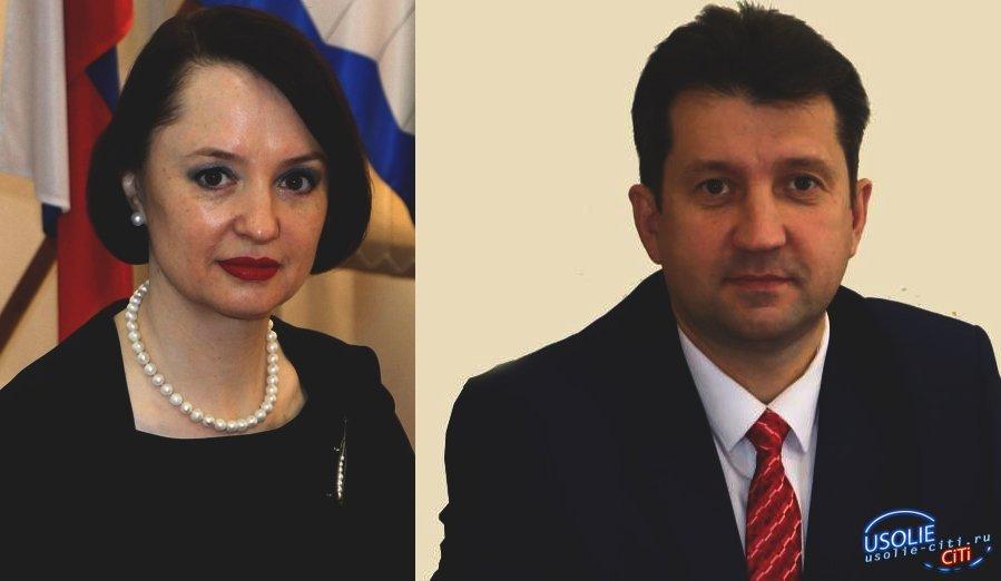 Виталий Матюха и Надежда Глызина поздравляют с Днем знаний