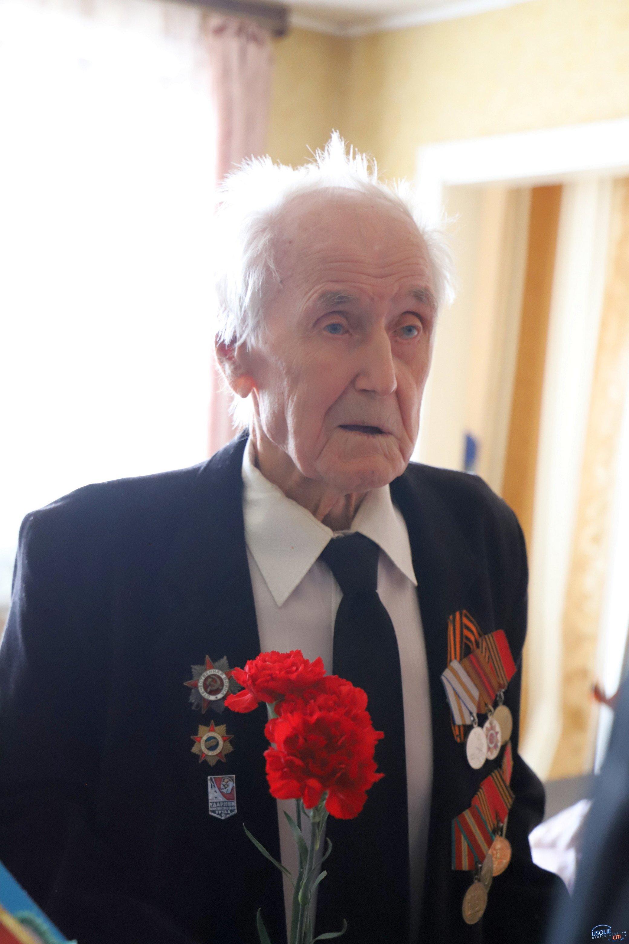 Долгожители Усольского района получили поздравления от  В. Путина и В. Матюхи.